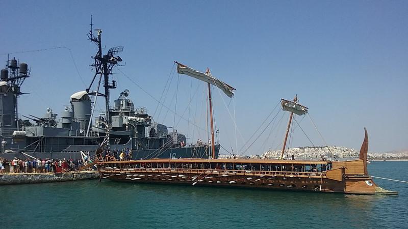 греческий корабль