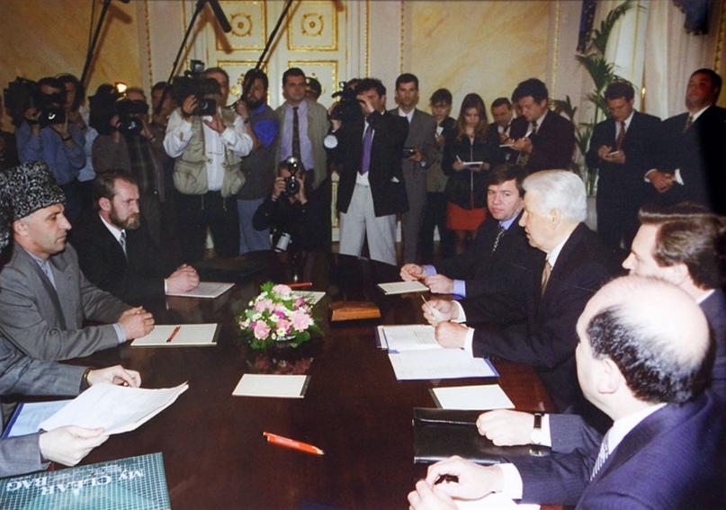 хасавюртовское соглашение кратко