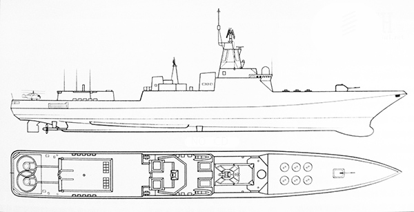 боевые корабли россии