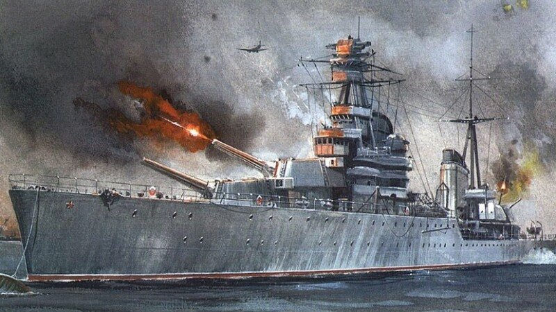 ракетный крейсер киров