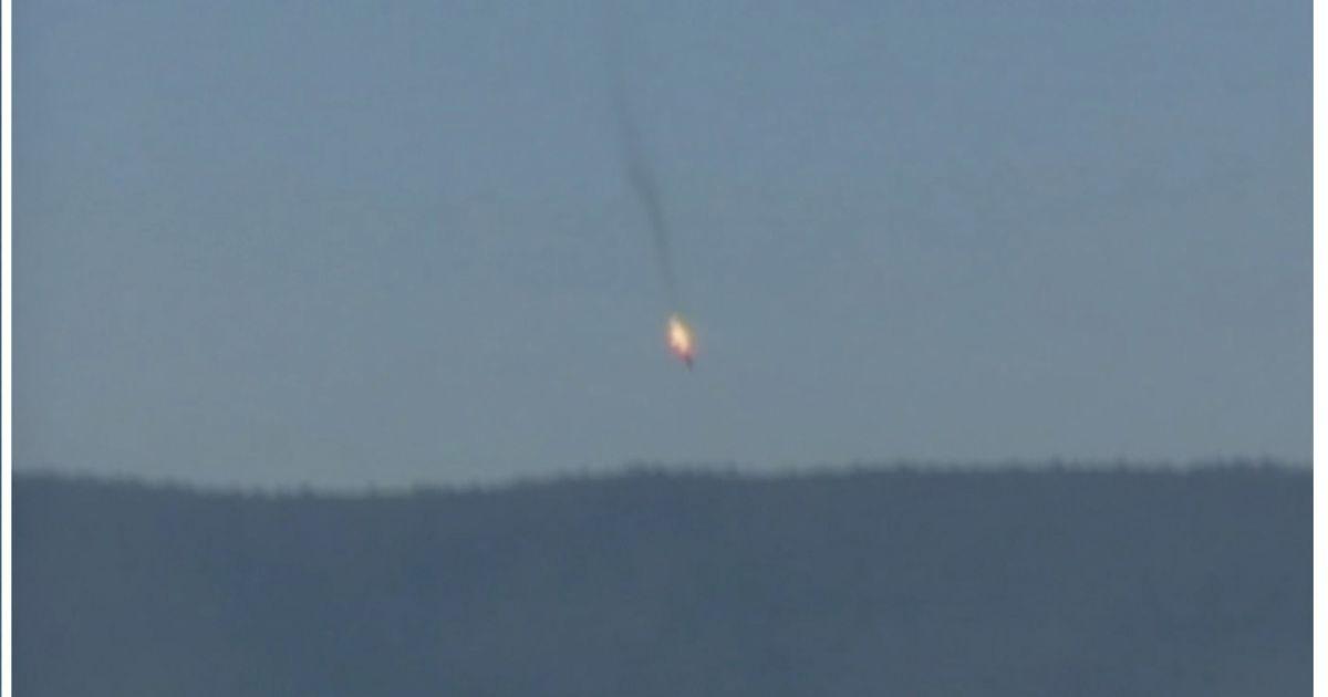 какой самолет сбили турки в сирии