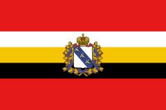 зеленый флаг с белым крестом