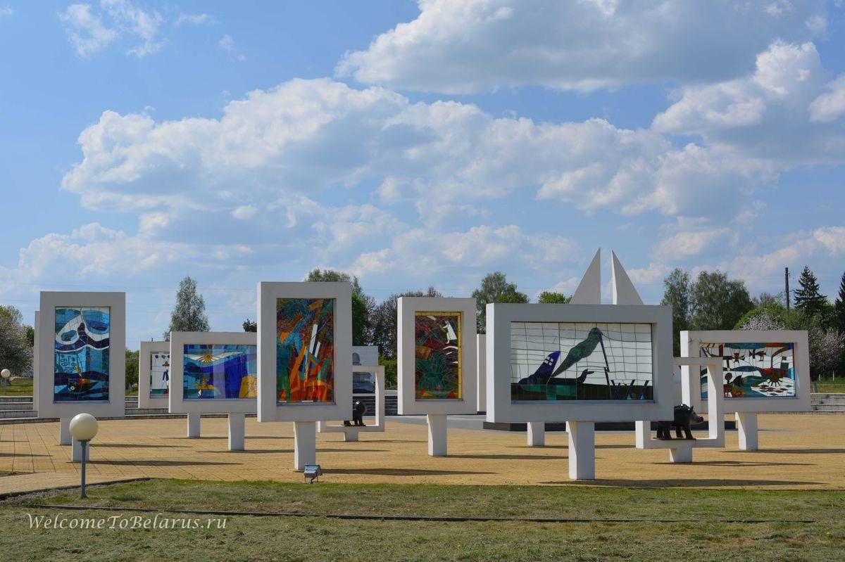 красный берег мемориальный комплекс