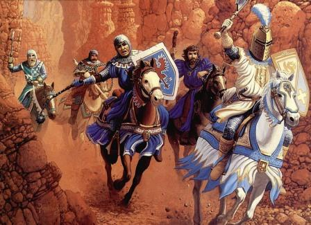 жизнь средневекового рыцаря