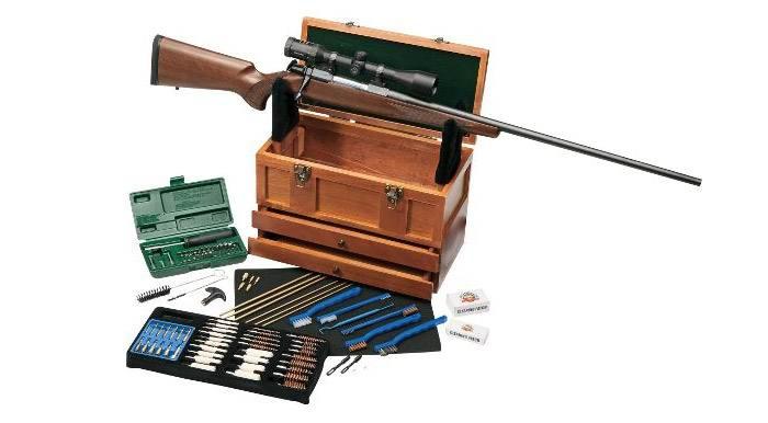 как правильно чистить гладкоствольное ружье