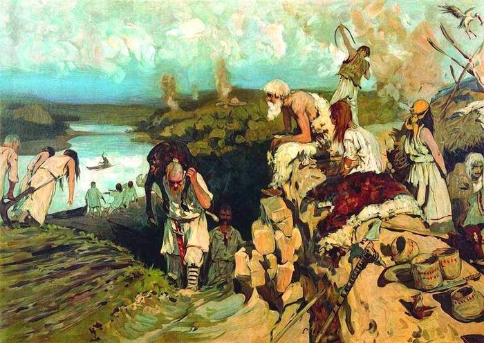 прародиной восточных славян большинством ученых считается