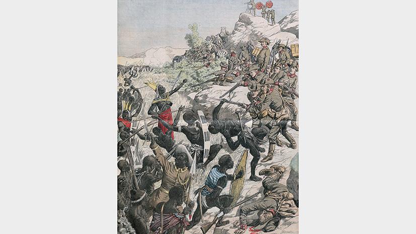 колонии германии в начале 20 века