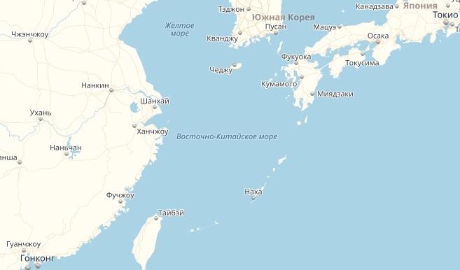 вид южно китайского моря
