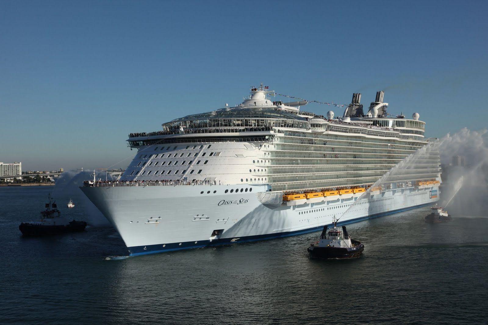 самое большое судно