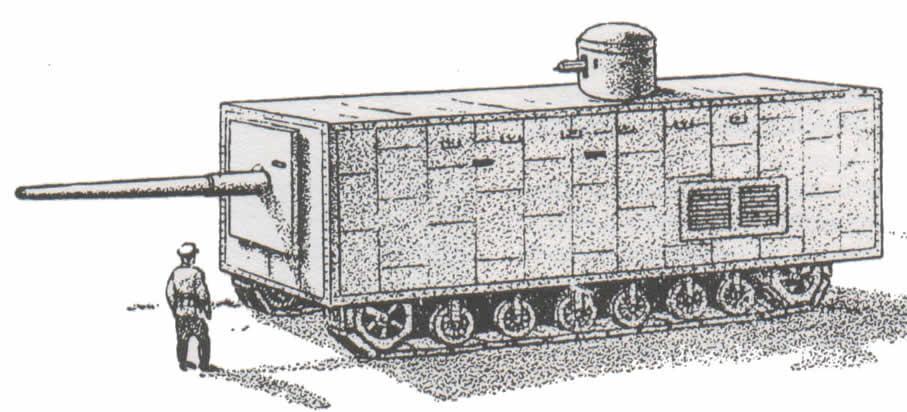 кто изобрел первый танк