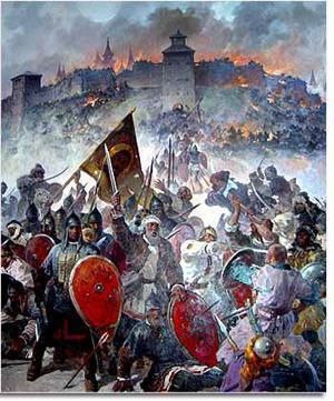 татаро монголы прозвали козельск