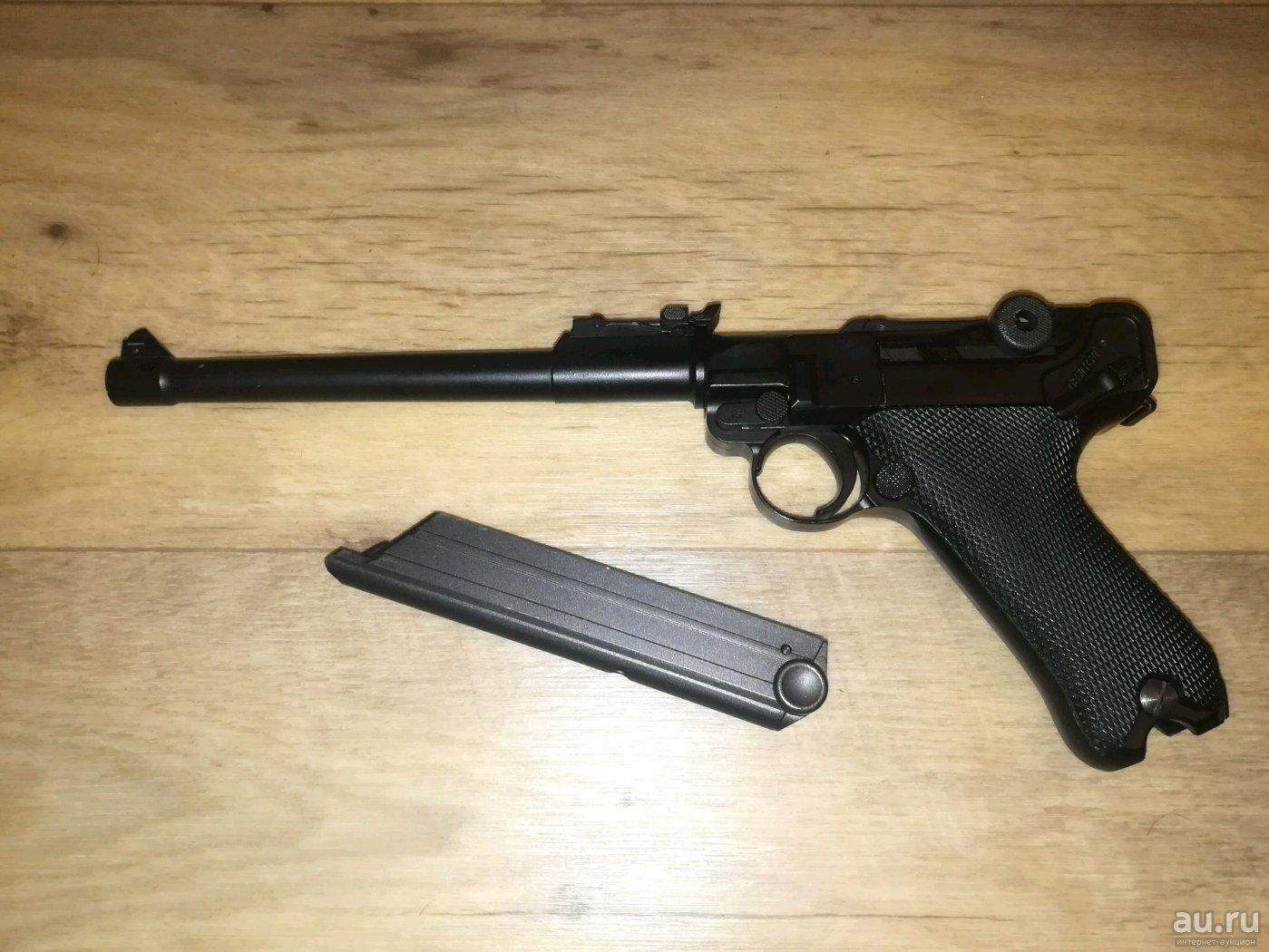 пистолет люгер р 08