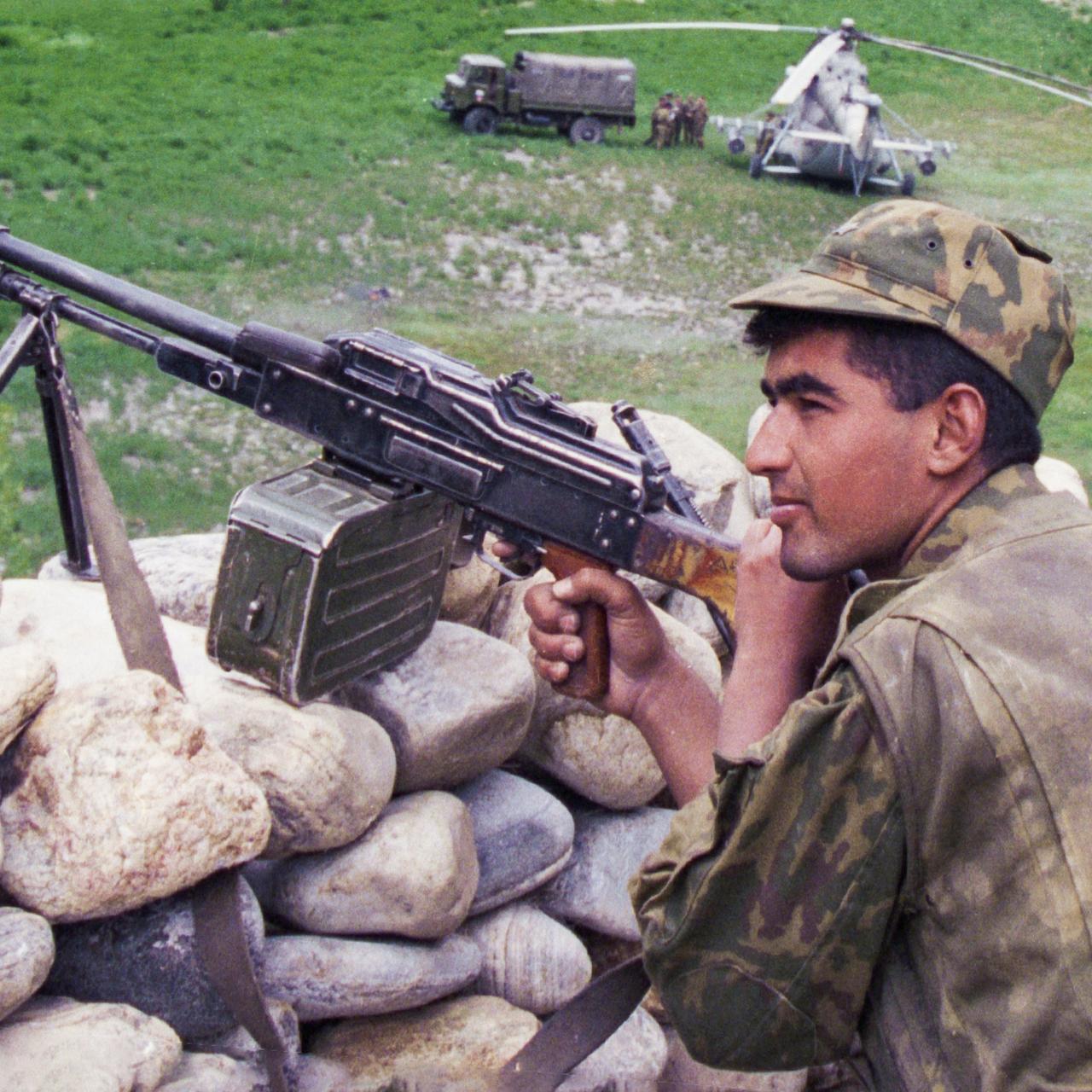 гражданская война в узбекистане