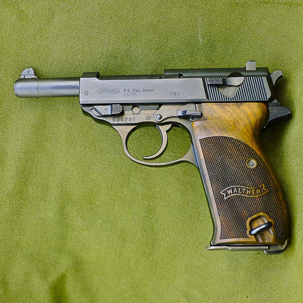 ppk пистолет