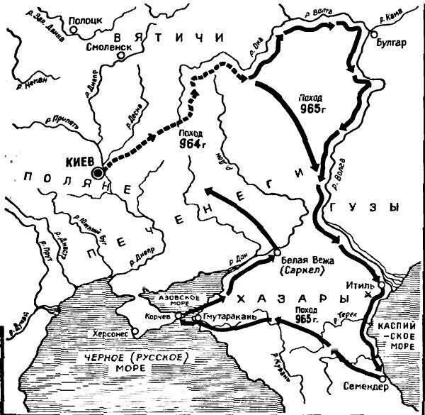 походы в дунайскую болгарию