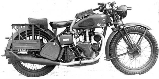 немецкие мотоциклы второй мировой войны