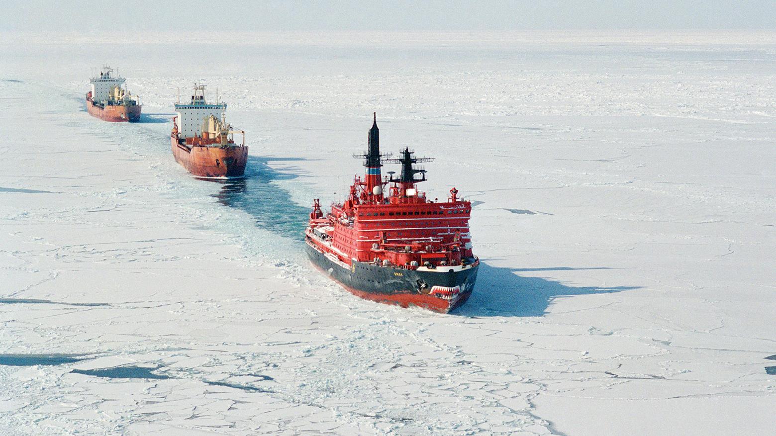 сколько ледоколов в россии