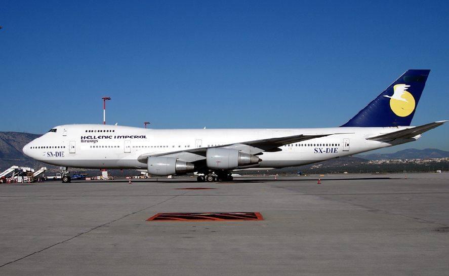 боинг 747 места