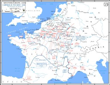 план нападения на францию