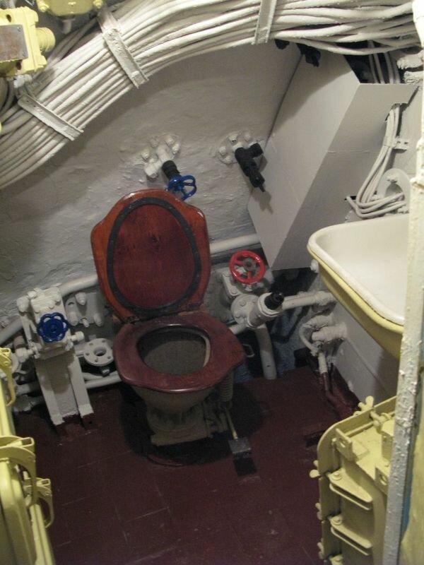 как называется туалет на корабле