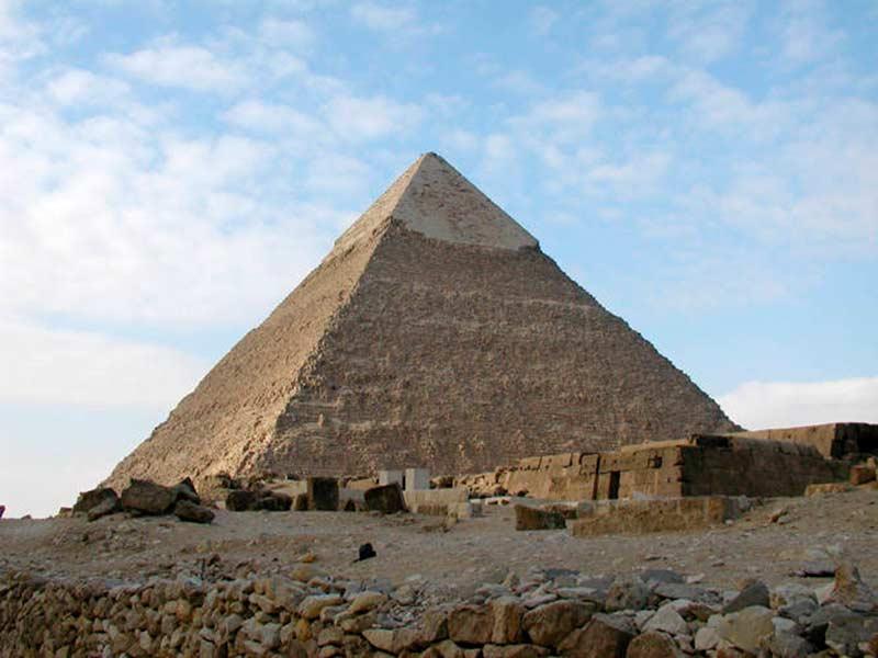 статуя фараона хефрена