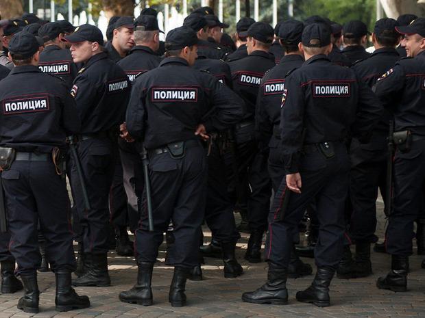 количество полицейских на душу населения в россии