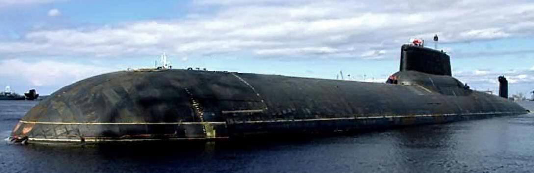 подводная лодка класса тайфун