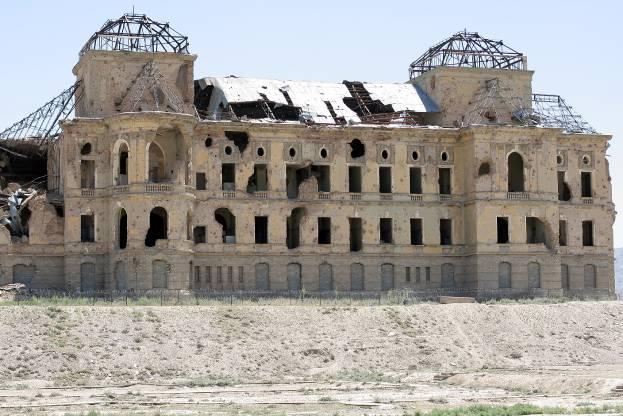дворец амина афганистан