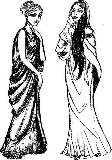 какой была одежда древних римлян