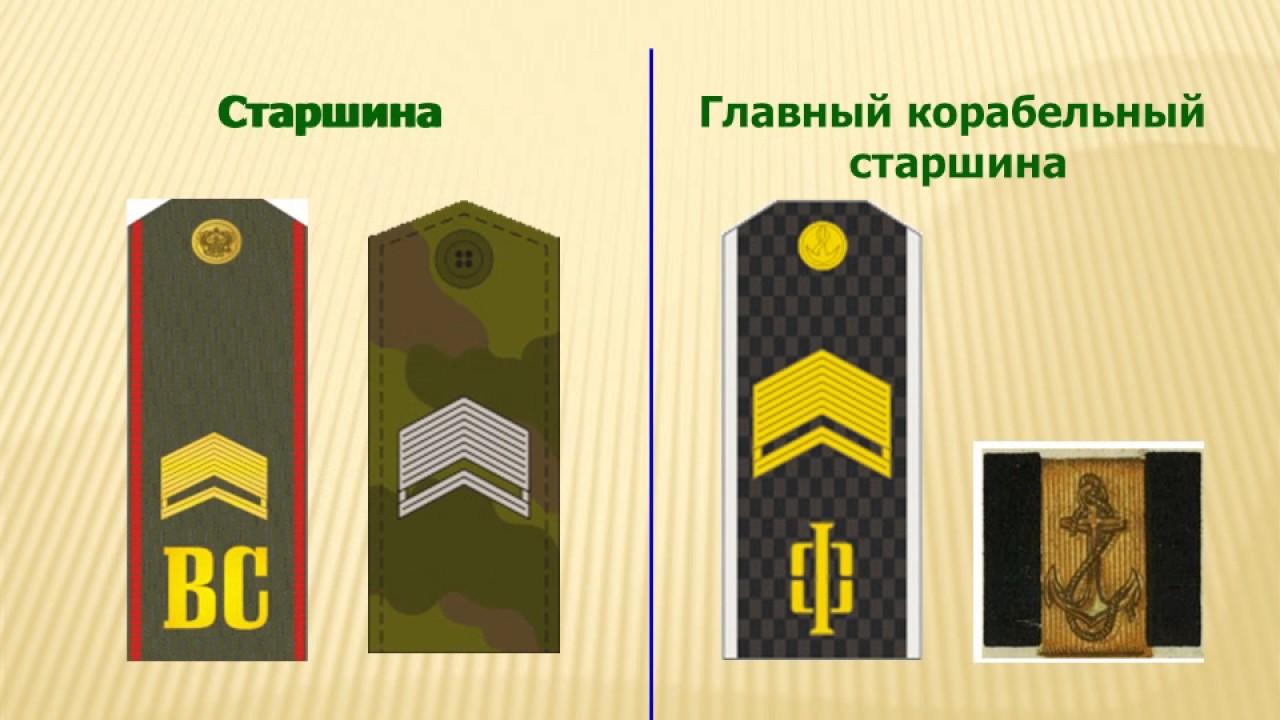 документация старшины роты