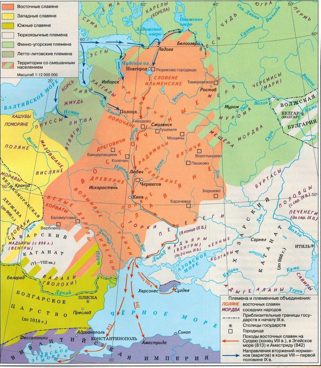 происхождение восточных славян кратко самое главное