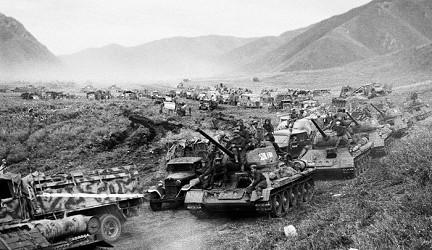 маньчжурия 1945