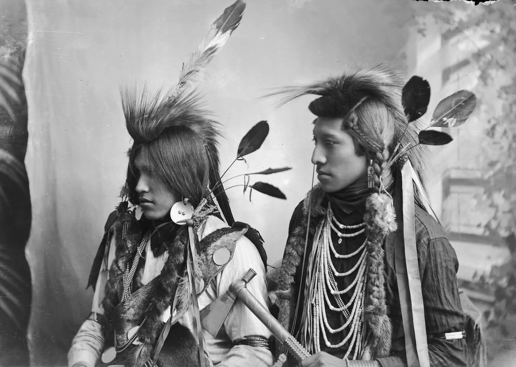 численность индейцев