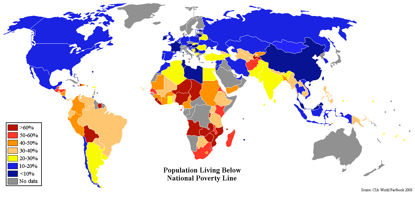 проблема бедности в мире