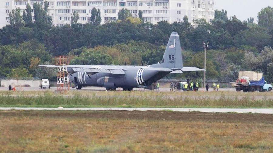 самолет с 130