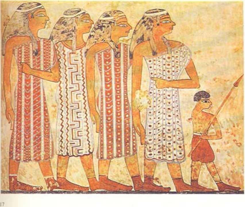 какую одежду носили земледельцы в древнем египте