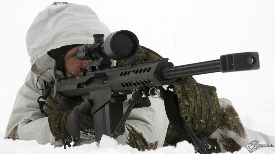 самая мощная снайперская винтовка
