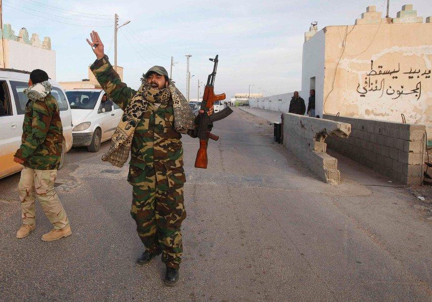война в ливии 2011