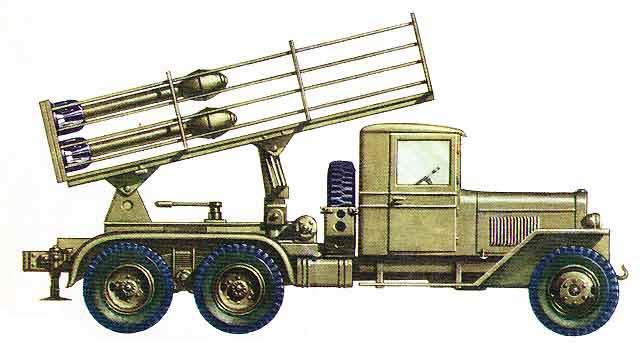 катюша ракетная установка