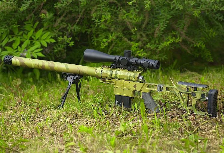 максимальная дальность снайперской винтовки