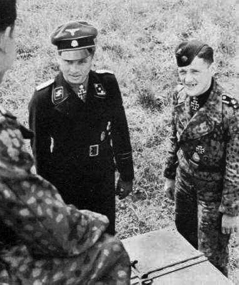 немецкие танкисты второй мировой войны