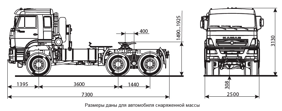 камаз танковоз