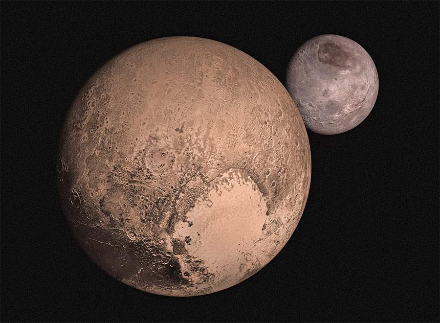 расстояние от земли до плутона в километрах