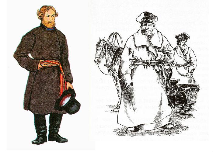 как одевались в древней руси