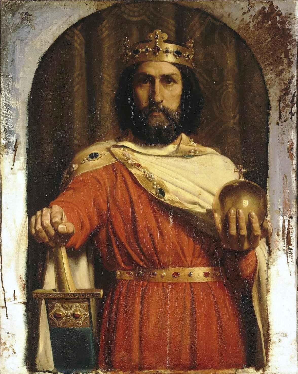 основные противники империи карла великого