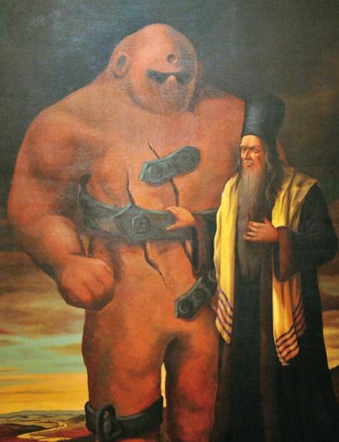 глиняный человек еврейских легенд