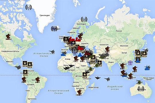 базы нато в европе