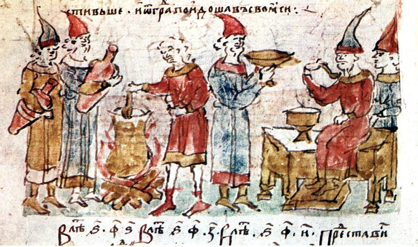первый договор руси с византией год