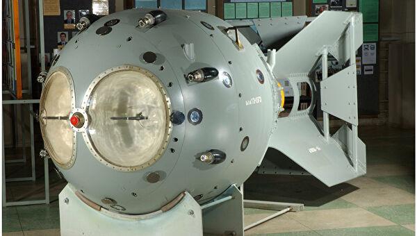 советская атомная бомба 1949