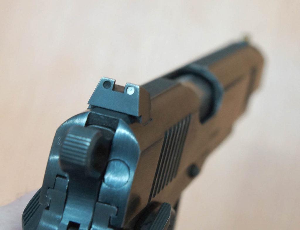 травматический пистолет 1911